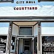 City Hall Courtyard Art Print