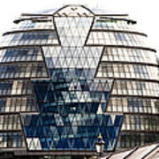 City Hall London Art Print by Christi Kraft