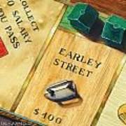 City Island Monopoly Vii Art Print
