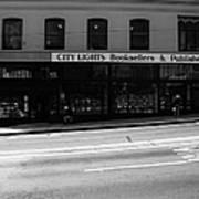 City Lights Booksellers Art Print