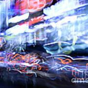 City Motion 6092 Art Print by Igor Kislev