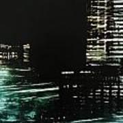 City Negative Art Print