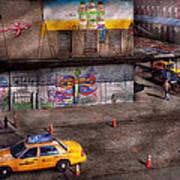 City - New York - Greenwich Village - Life's Color Art Print