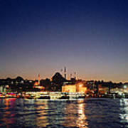 Colours Of Istanbul Art Print