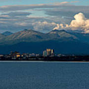 City Of Anchorage  Art Print