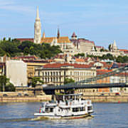 City Of Budapest Art Print