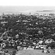 City Of Honolulu Art Print