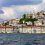 City Of Istanbul Cityscape Art Print