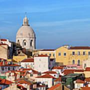 City Of Lisbon In Portugal Art Print