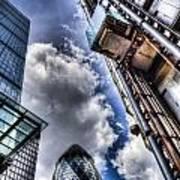 City Of London Iconic Buildings Art Print