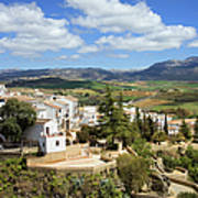 City Of Ronda In Spain Art Print