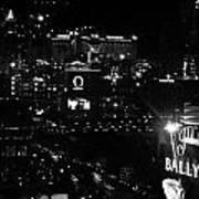 City Of Vegas 2008 Art Print