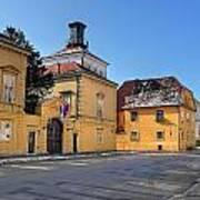City Of Zagreb Historic Upper Town Art Print
