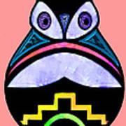 City Owl Art Print