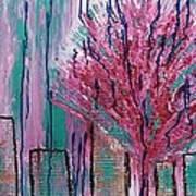 City Pear Tree Art Print