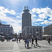 City Square In Stockholm Art Print