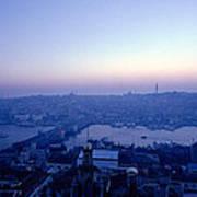 Romance Of Istanbul Art Print