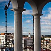 City Viewed Through From The Santa Art Print