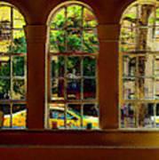 City Windows Art Print