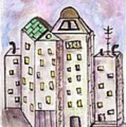 Cityscape 1 Art Print