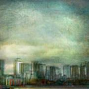 Cityscape #32. Chrystalhenge Art Print