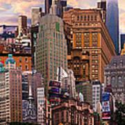 Cityscape Dream Art Print