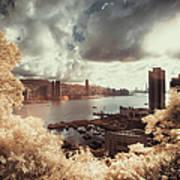 Cityscape In Dream Art Print