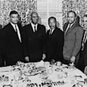 Civil Rights Leaders, 1963 Art Print