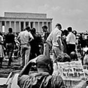 Civil Rights Occupiers Art Print