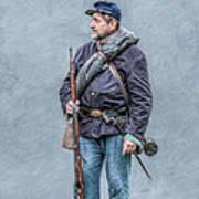 Civil War 40th Pennsylvania Volunteer Infantry Art Print