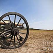 Civil War Cannon Art Print