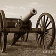 Civil War Cannon Art Print by Olivier Le Queinec