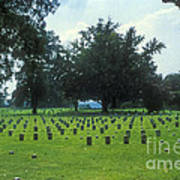 Civil War Gravesites Art Print