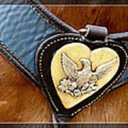Civil War Horse Breastplate Art Print