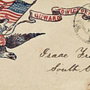 Civil War Letter 18 Art Print