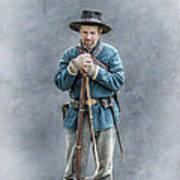 Civil War Soldier Co. F 78th Pvi Art Print