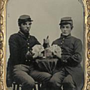 Civil War Soldiers C1863 Art Print