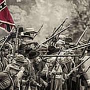 Civil War South  Art Print