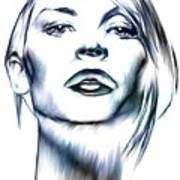 Claire Danes Art Print by Wu Wei