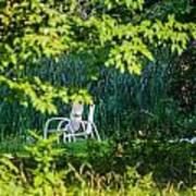 Clandestine Chair Art Print by Jason Brow