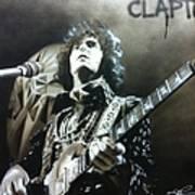Clapton Art Print