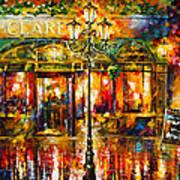 Clarens Misty Cafe Art Print