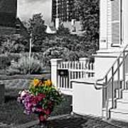 Clark House Flowers 2 Art Print