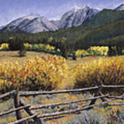 Clark Peak Art Print by Mary Giacomini