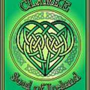 Clarke Soul Of Ireland Art Print