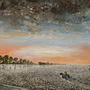 Clarksdale Mississippi Highway 61 Art Print