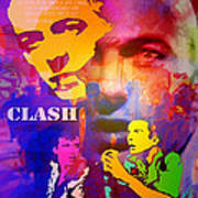 Clash Know Your Rights Art Print