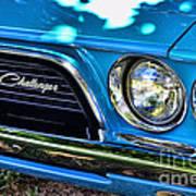 Classic 1974 Dodge Challenger Art Print