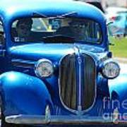 Classic Blue Art Print