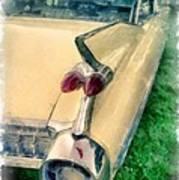 Classic Caddy Fins Art Print